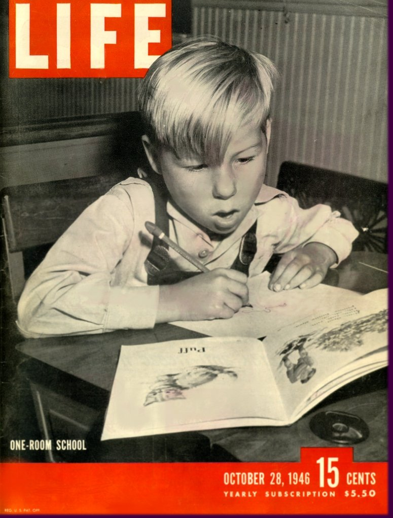 Chuck - 1946 - Cover of Life Magazine