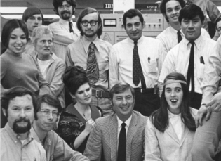 Chuck Supervisor Swing Shift Computer Center - 1969