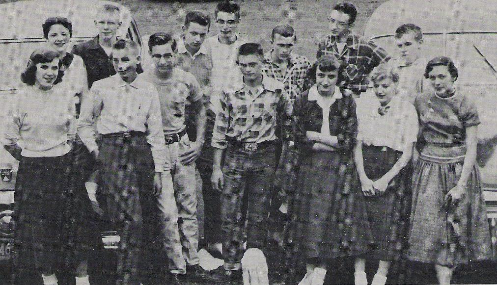 Polo High School Junior Class - 1957