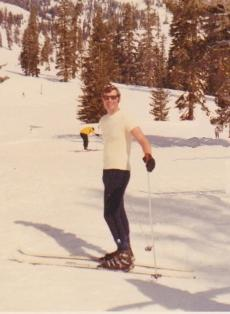 Chuck Skiing at Squaw Valley