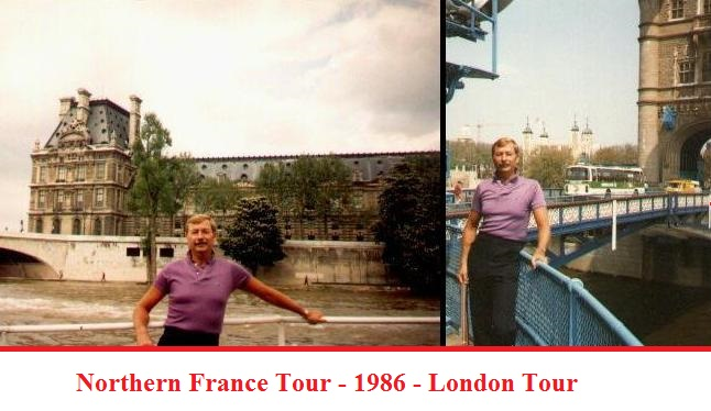 Chuck in France and London