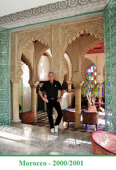 Chuck in Morocco