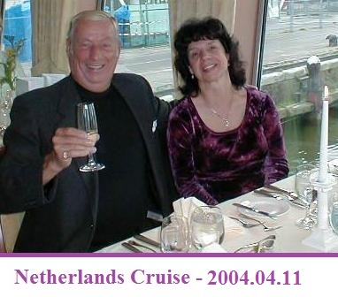 Chuck & Gail in the Netherlands
