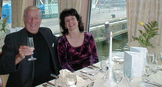 Chuck & Gail in the Netherlands - 2004