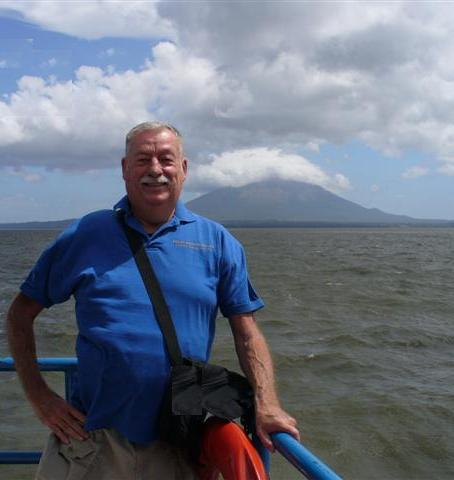 Chuck and Ometepe Volcano!