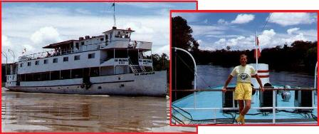 Amazon River Trip in 1994 - Western Brazil & Peru!